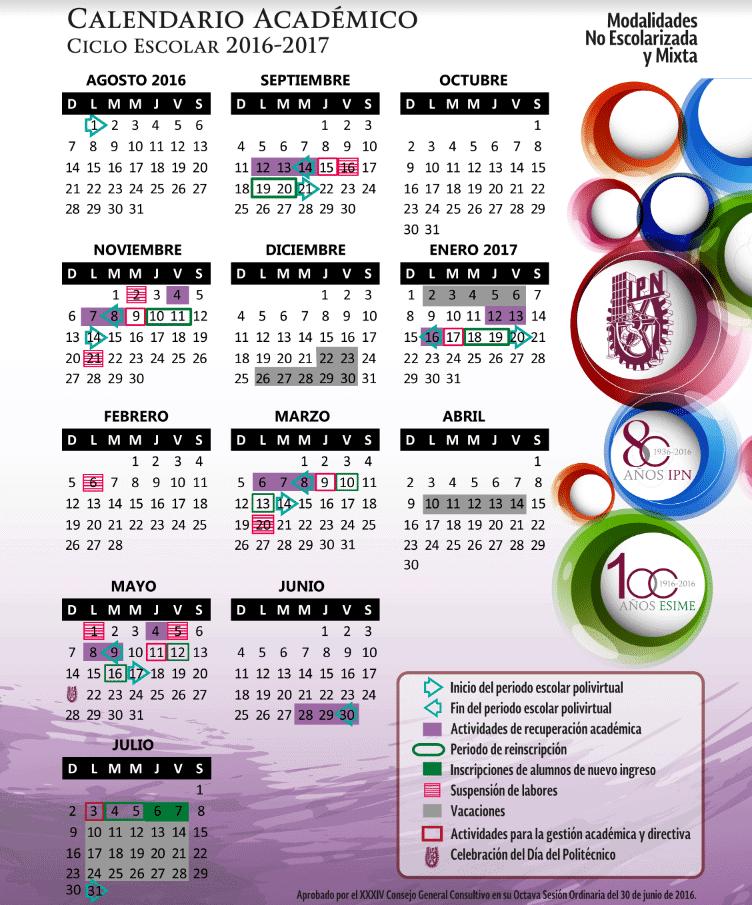 calendario ipn